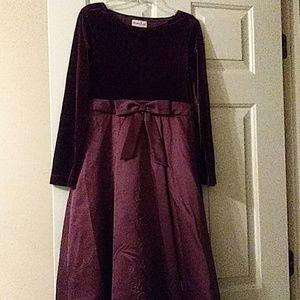 Rich in Color Velvet Silky Dress